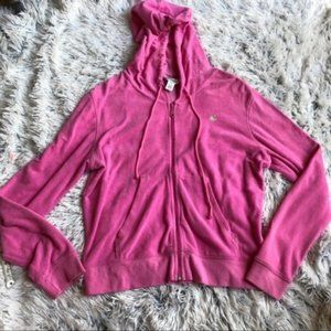 ⏱SALE [A12-10] Lilly Pulitzer Pink Palm Hoodie